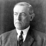 Portrait of President Woodrow Wilson from 1912